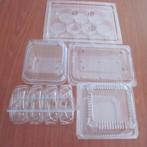 Plastic trays for car and motorcycle components